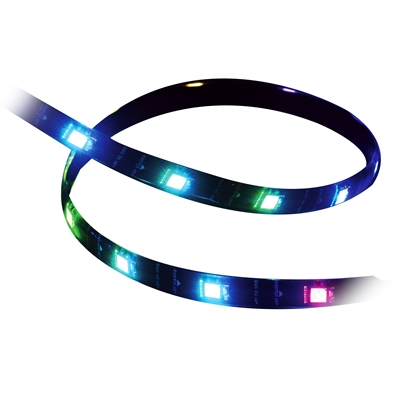Akasa Vegas 0.6m Magnetic Addressable RGB LED Light Strip