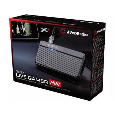 AVerMedia Live Gamer Mini GC311 Portable External HDMI Capture Card