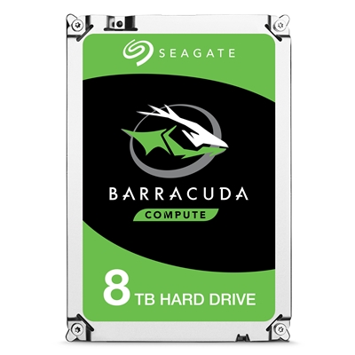 "Seagate BarraCuda ST8000DM004 8TB Desktop Hard Drive 3.5"" SATA III 5400RPM 256MB Cache Internal Hard Drive"