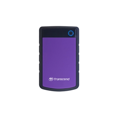 "Transcend 4TB StoreJet2.5"" H3P Portable HDD Purple"