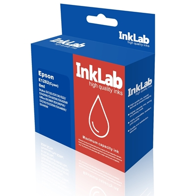 InkLab 1282 Epson Compatible Cyan Replacement Ink
