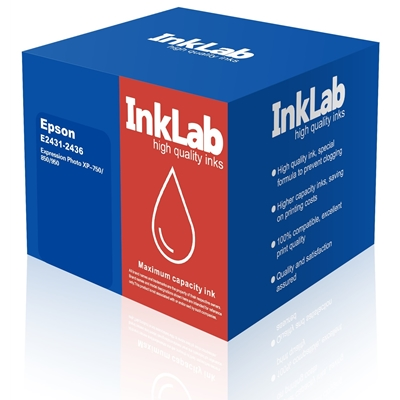 InkLab 2431-2436 Epson Compatible Multipack Replacement Ink