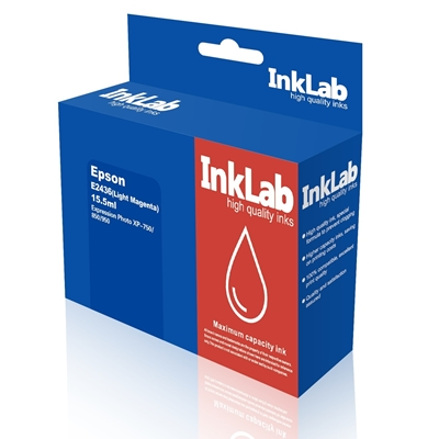 InkLab 2436 Epson Compatible Light Magenta Replacement Ink