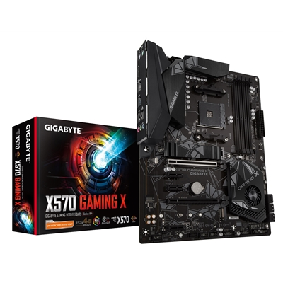 Gigabyte X570 GAMING X AMD Socket AM4 ATX HDMI DDR4 Dual PCIe 4.0 M.2 USB 3.2 Motherboard