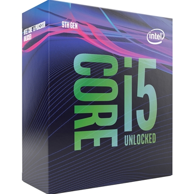 Intel Core i5 9600K Coffee Lake Refresh Six Core 3.7GHz 1151 Socket Overclockable Processor
