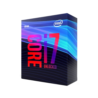 Intel Core i7 9700K Coffee Lake Refresh Eight Core 3.6GHz 1151 Socket Overclockable Processor