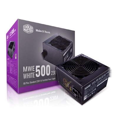 Cooler Master MWE White V2 500W 230V 120mm HDB Fan 80 PLUS White PSU