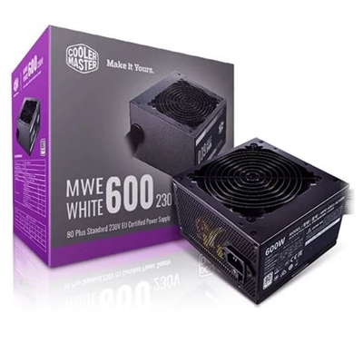 Cooler Master MWE White V2 600W 230V 120mm HDB Fan 80 PLUS White PSU