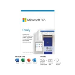 Microsoft 365 Family Medialess 1 Year Subscription 6 Users