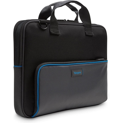 "Targus Education Dome Protection 13.3"" Topload Laptop Bag - Black / Grey"