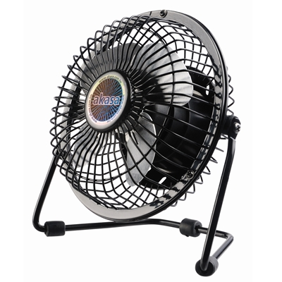 "Akasa 4"" Mini USB Desktop Fan"