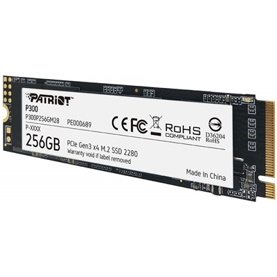 Patriot P300 256GB M.2 2280 PCIe NVMe SSD