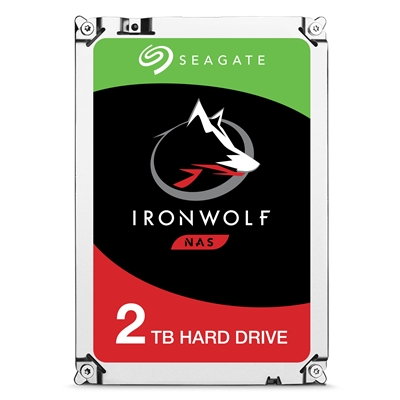 "Seagate IronWolf ST2000VN004 2TB NAS Hard Drive 3.5"" 5900RPM 64MB Cache Sata lll Internal Hard Drive"