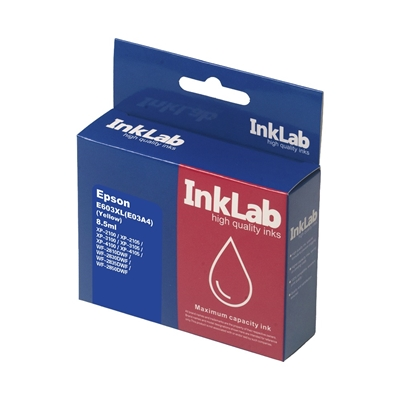 InkLab 603XL Epson Compatible Yellow Replacement Ink