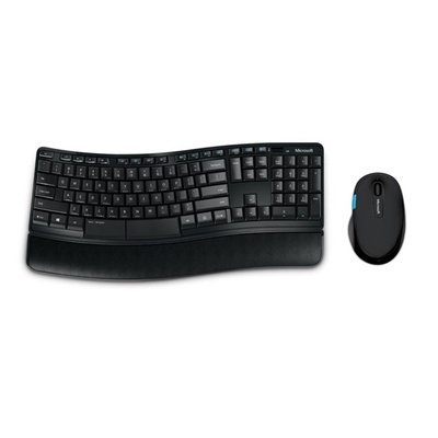 Microsoft Sculpt Comfort Desktop Wireless Ergonomic Keyboard and Mouse Set