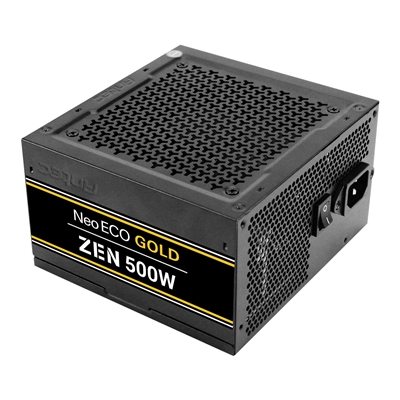 Antec Neo ECO Gold Zen 500W 120mm Silent Fan 80 PLUS Gold PSU