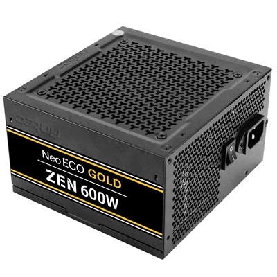 Antec Neo ECO Gold Zen 600W 120mm Silent Fan 80 PLUS Gold PSU