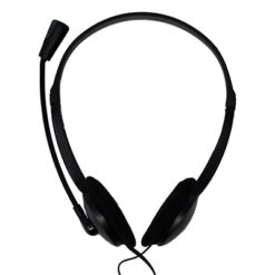 Jedel Home & Office Noise Cancelling Stereo Head Set with Microphone 3.5mm Jack Black