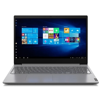 Lenovo V15 82C700E4UK AMD Athlon 3050U 4GB RAM 128GB SSD 15.6 inch Full HD Windows 10 Home Laptop Iron Grey