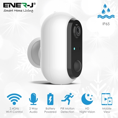 Smart Wireless 1080P Battery Camera with Rechargeable batteries